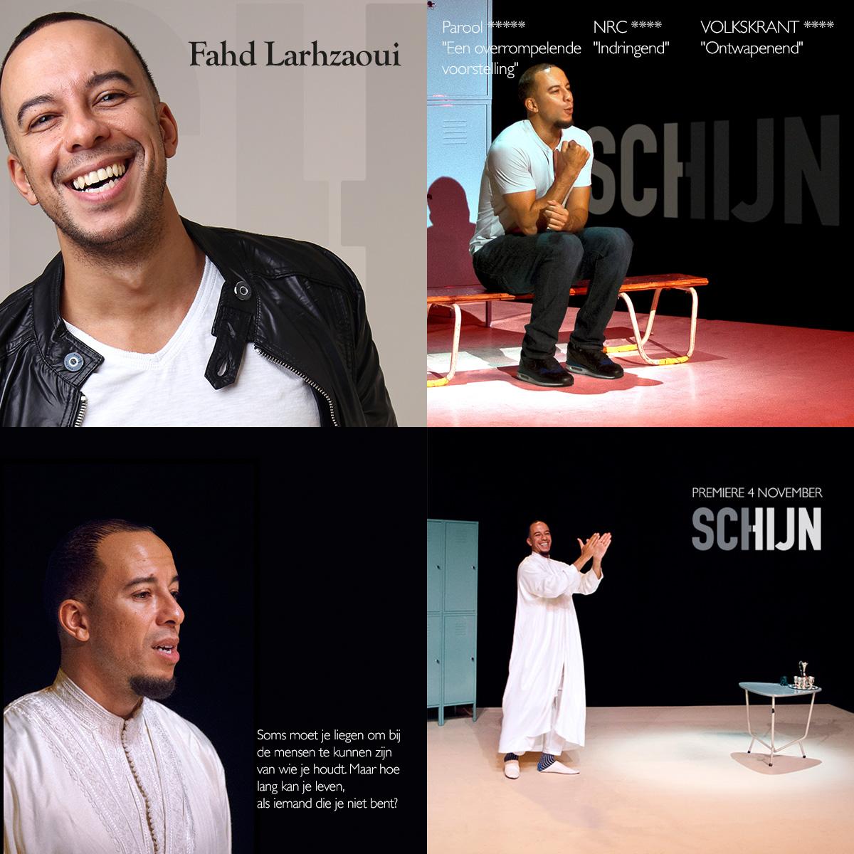 4 boost images voor theaterproductie SCHIJN