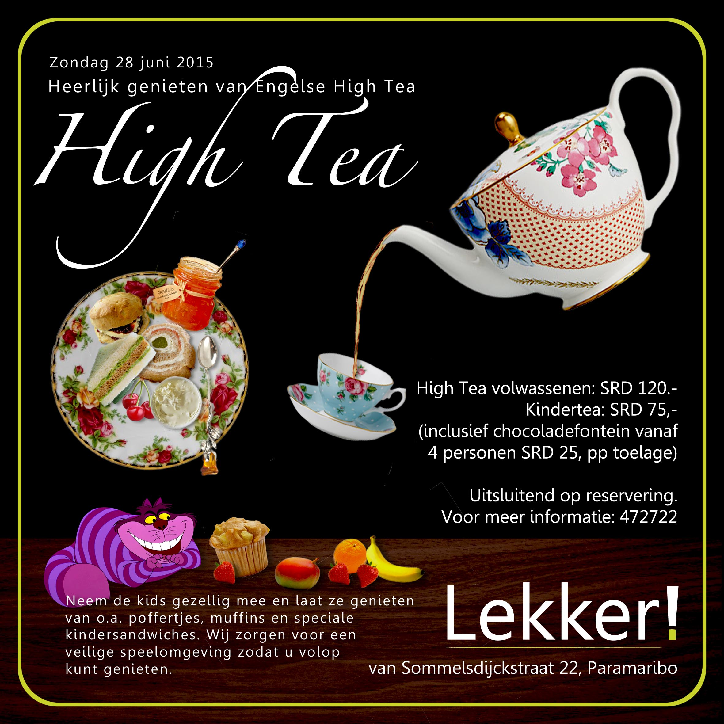 High Tea Lekker