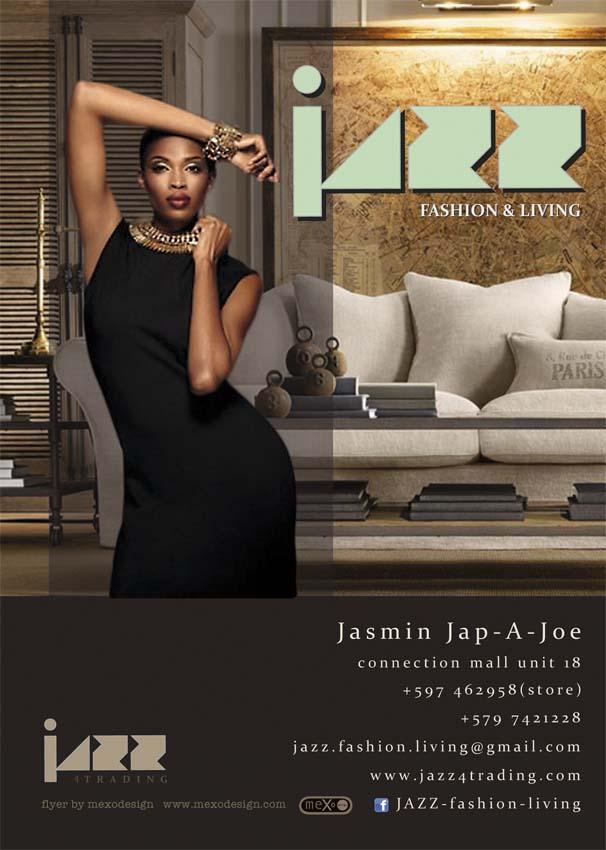 flyer JAZZ beurs augustus 2014