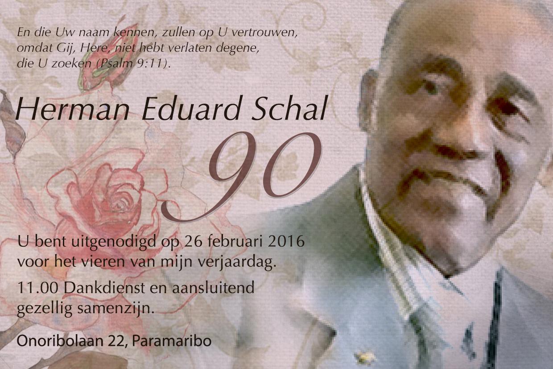 Uitnodiging, Paramaribo 2016